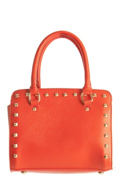 Karen Red Studded Handbag