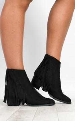 Lonia Fringed Boots