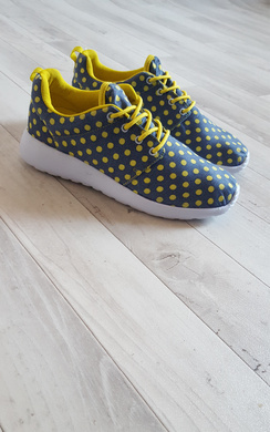 Halona Spotty Lace-Up Trainers