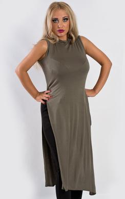 Darcy Side Split Midi Dress