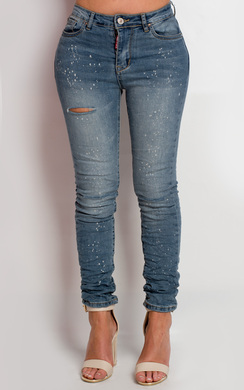 Tierny Ripped Skinny Jeans