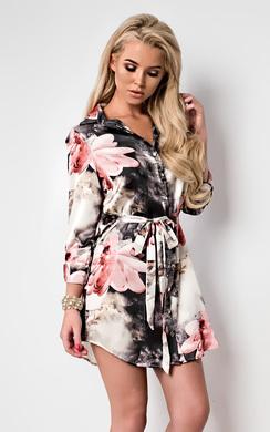 Binky Floral Shirt Dress