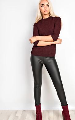 Kyla Cold Shoulder Knitted Top