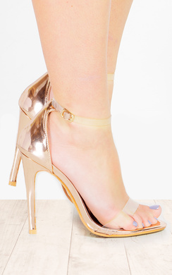 Kim Clear Perspex High Heels