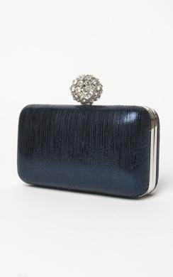 Avery Diamante Clutch Bag