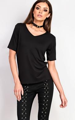 Loretta Basic V-neck T-shirt