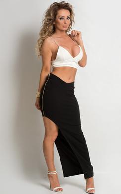 Mehr Zipped Maxi Skirt