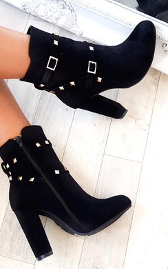 Miya Studded Ankle Boots