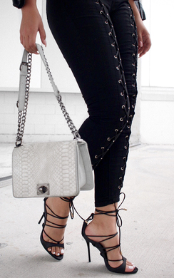 Serenity Lace Up Jeans