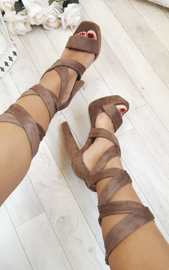 Echo Tie-Up High Heels