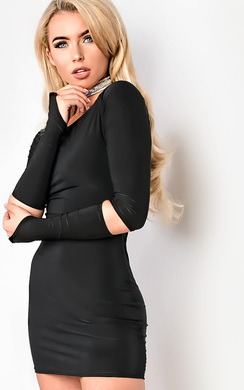 Carley Off Shoulder Bodycon Dress