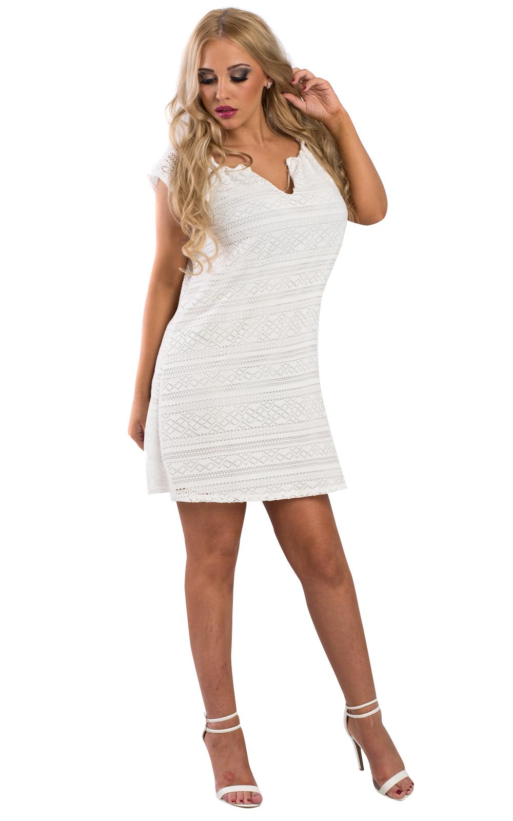 Lace Shift Festival Fashion Style Lace Up Summer Dress Ebay