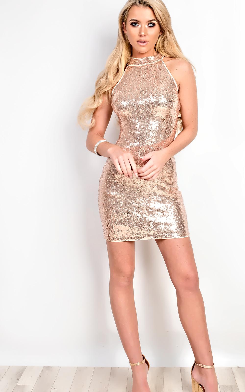 Women's Dresses & Skirts iKrush Lauriana Sequin Bodycon Dress
