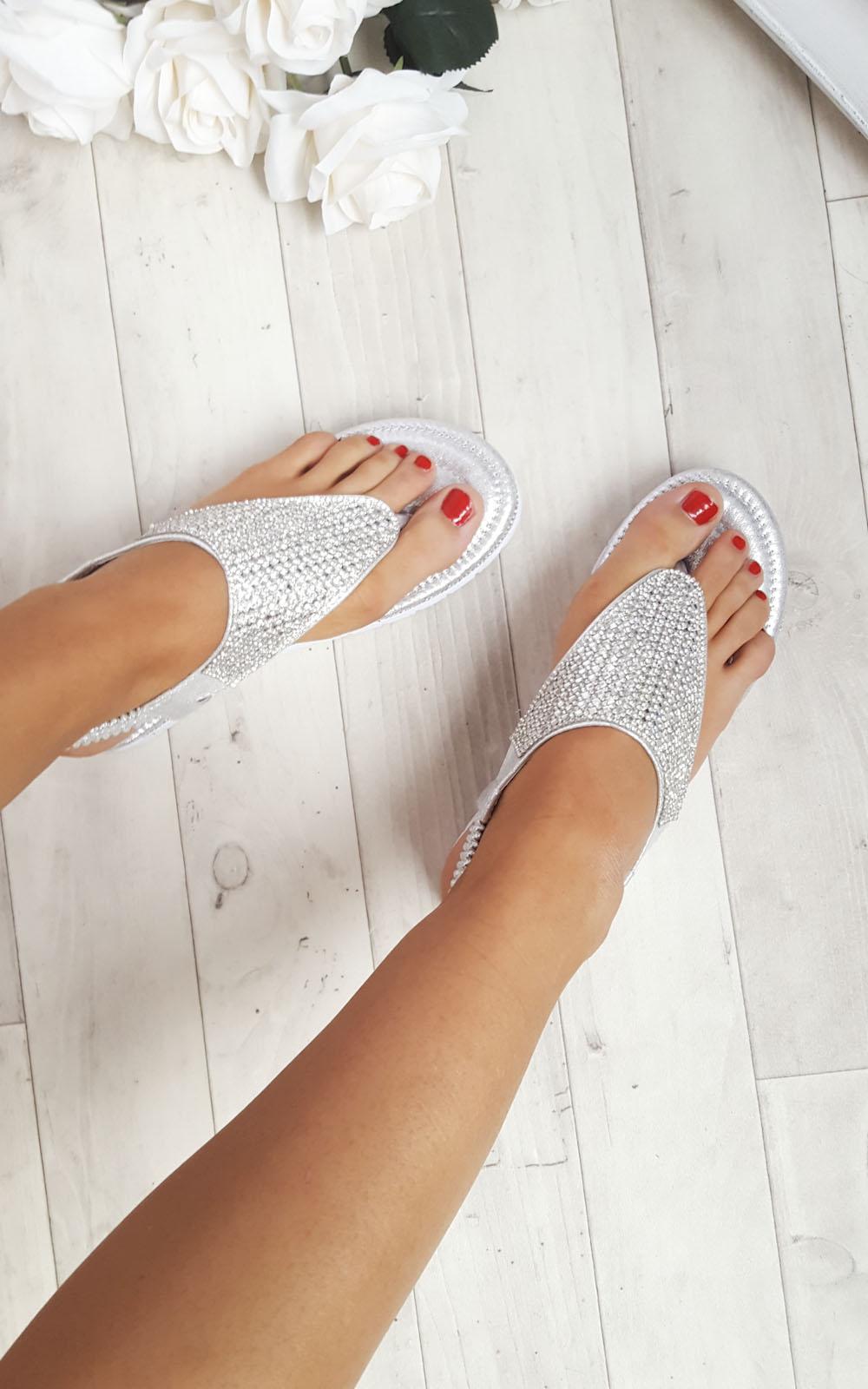 Sandalias para mujer Karley adornado ikrush