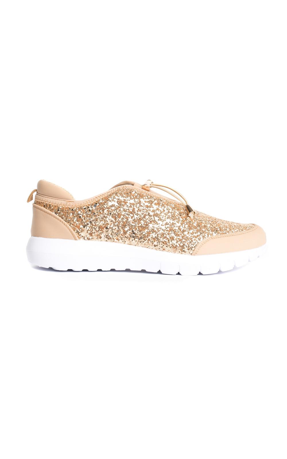 s stunning casual glitter sparkle slip on
