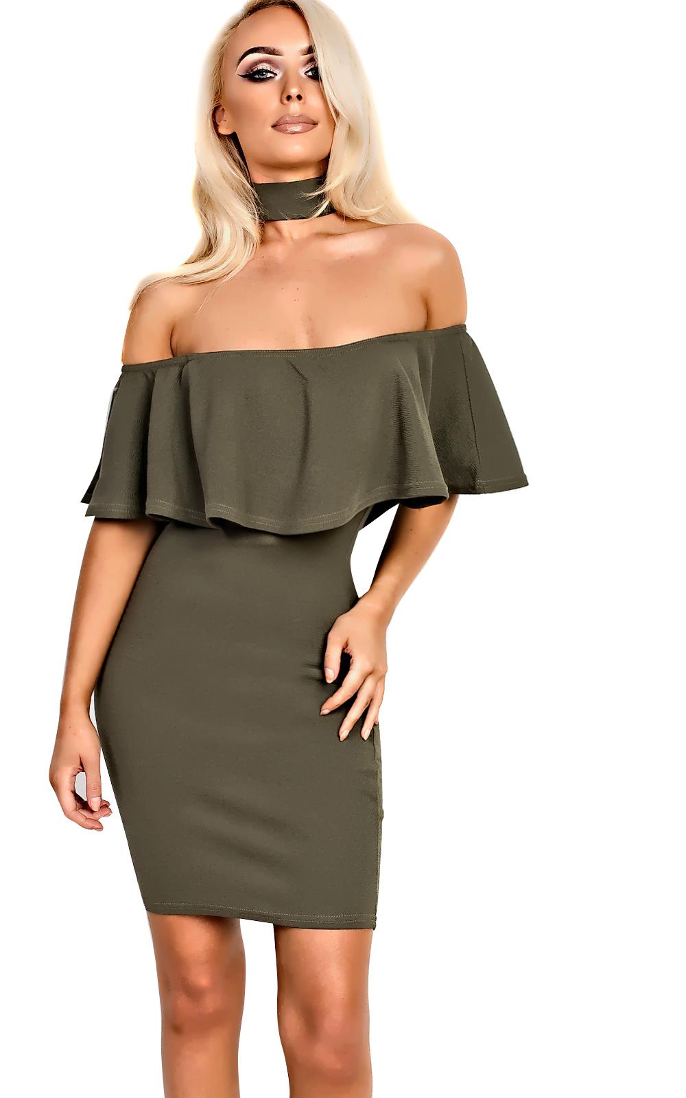 IKRUSH-Womens-Kassidy-Choker-Neck-Bodycon-Dress