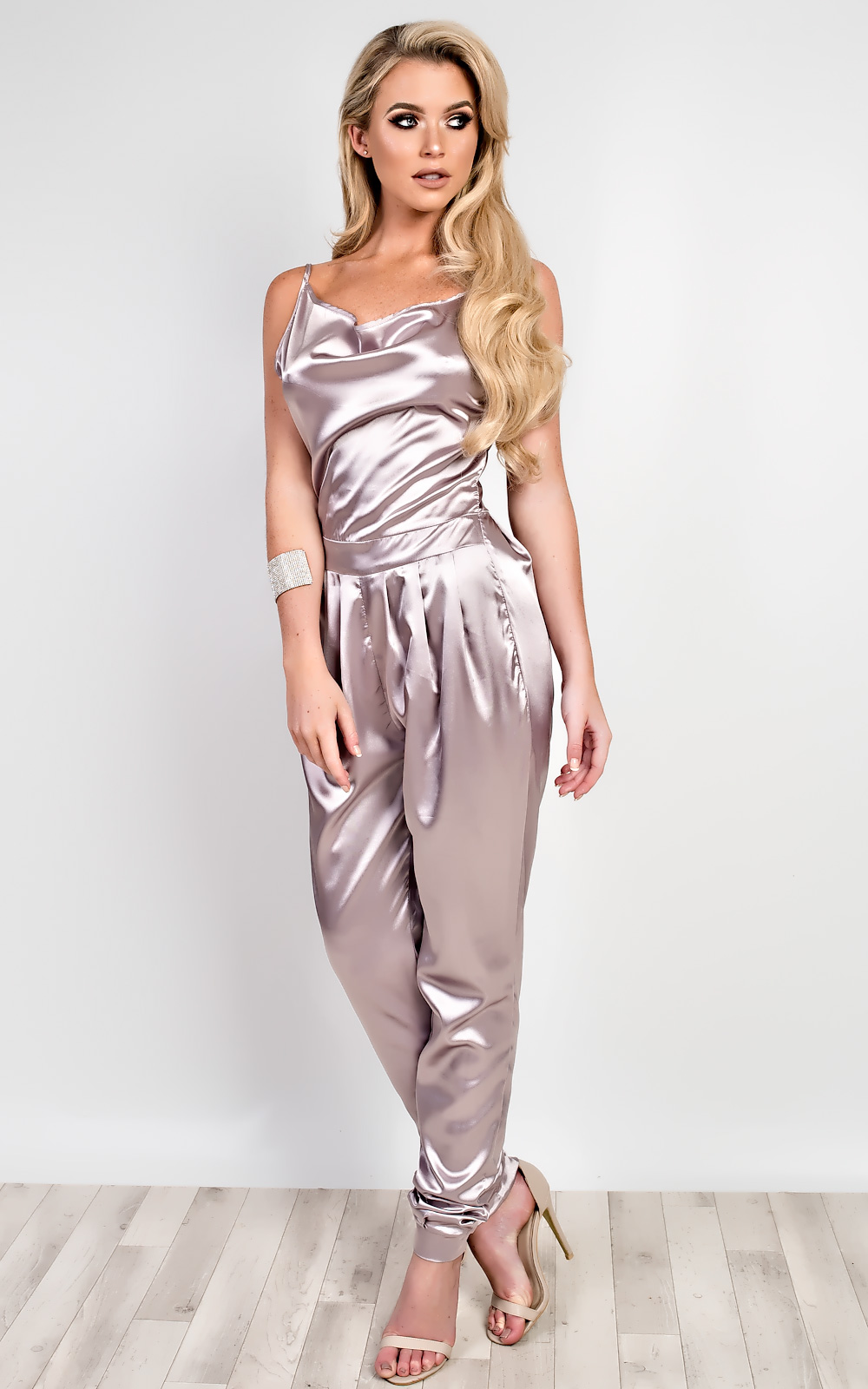Women039s Ladies Stunning Glam Satin Jumpsuit - <span itemprop=availableAtOrFrom>Glasgow, United Kingdom</span> - If you change your mind about a product or find the size isn't quite right, you can return it to us. We are happy to accept returns that are received within 30 days of delivery for full p - Glasgow, United Kingdom