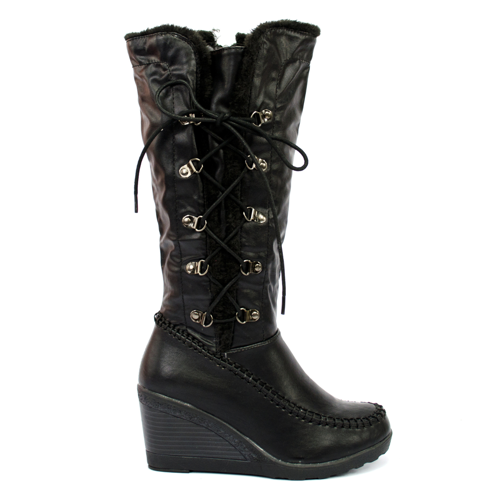 iKrush Abby Leather Like Boots