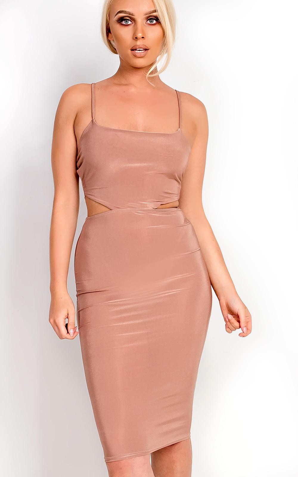 IKRUSH-Womens-Ajtar-Slinky-Cut-out-Dress
