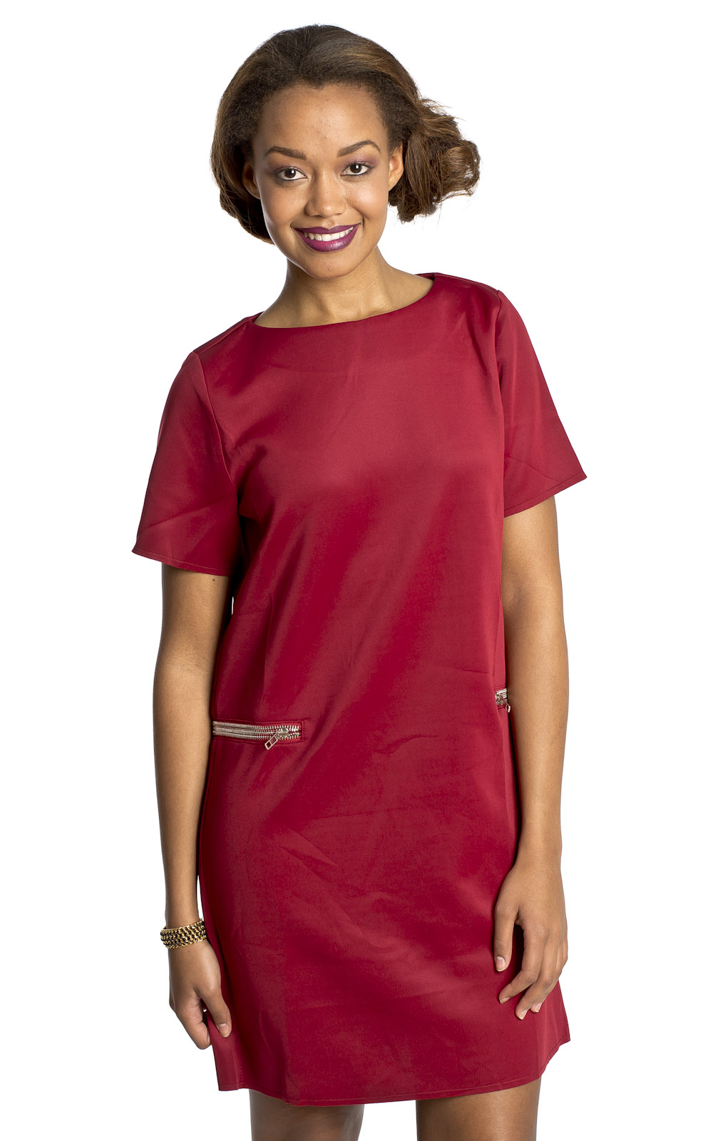 iKrush Abby Zip Shift Dress