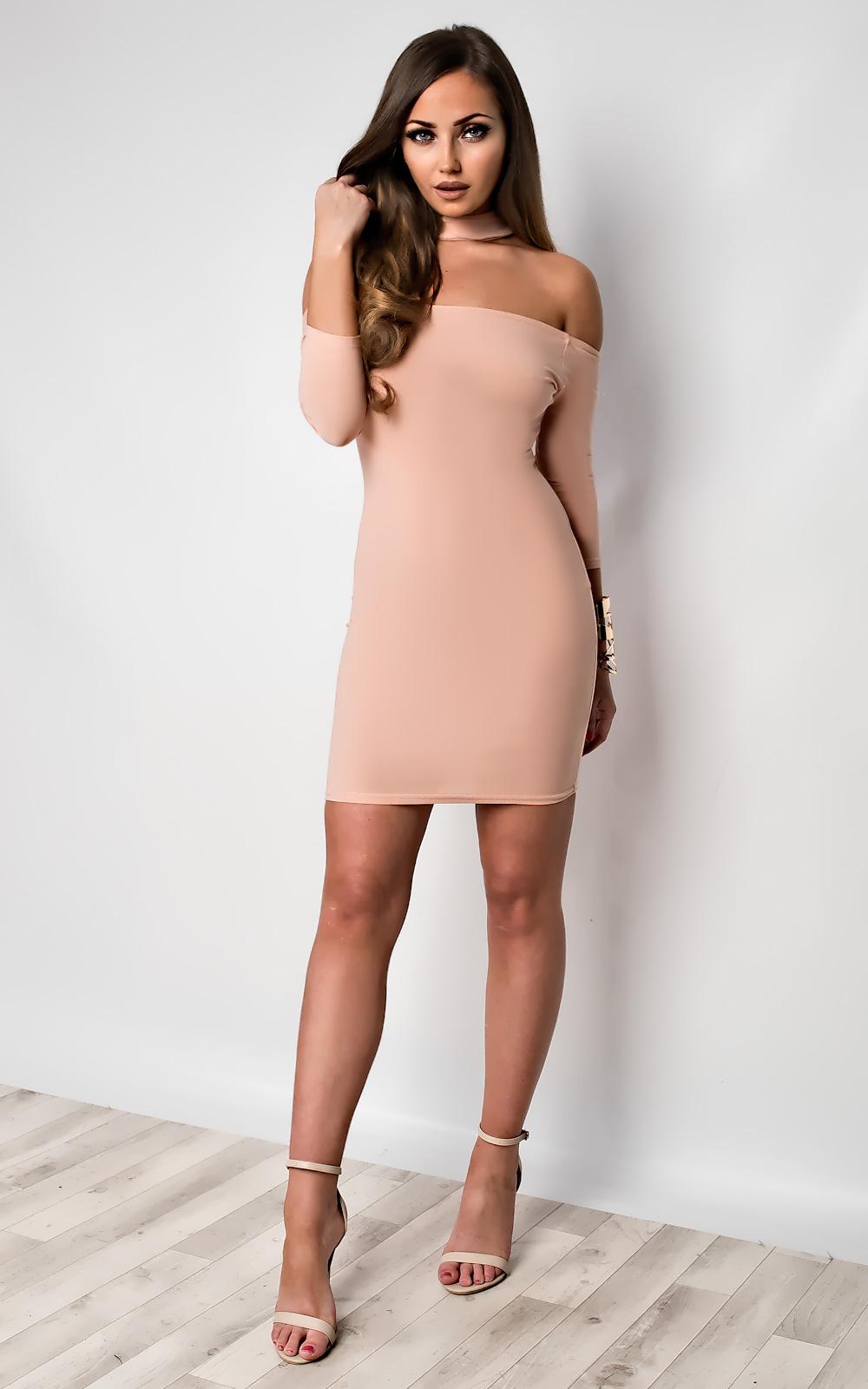 IKRUSH-Womens-Imogen-Off-Shoulder-Bodycon-Dress