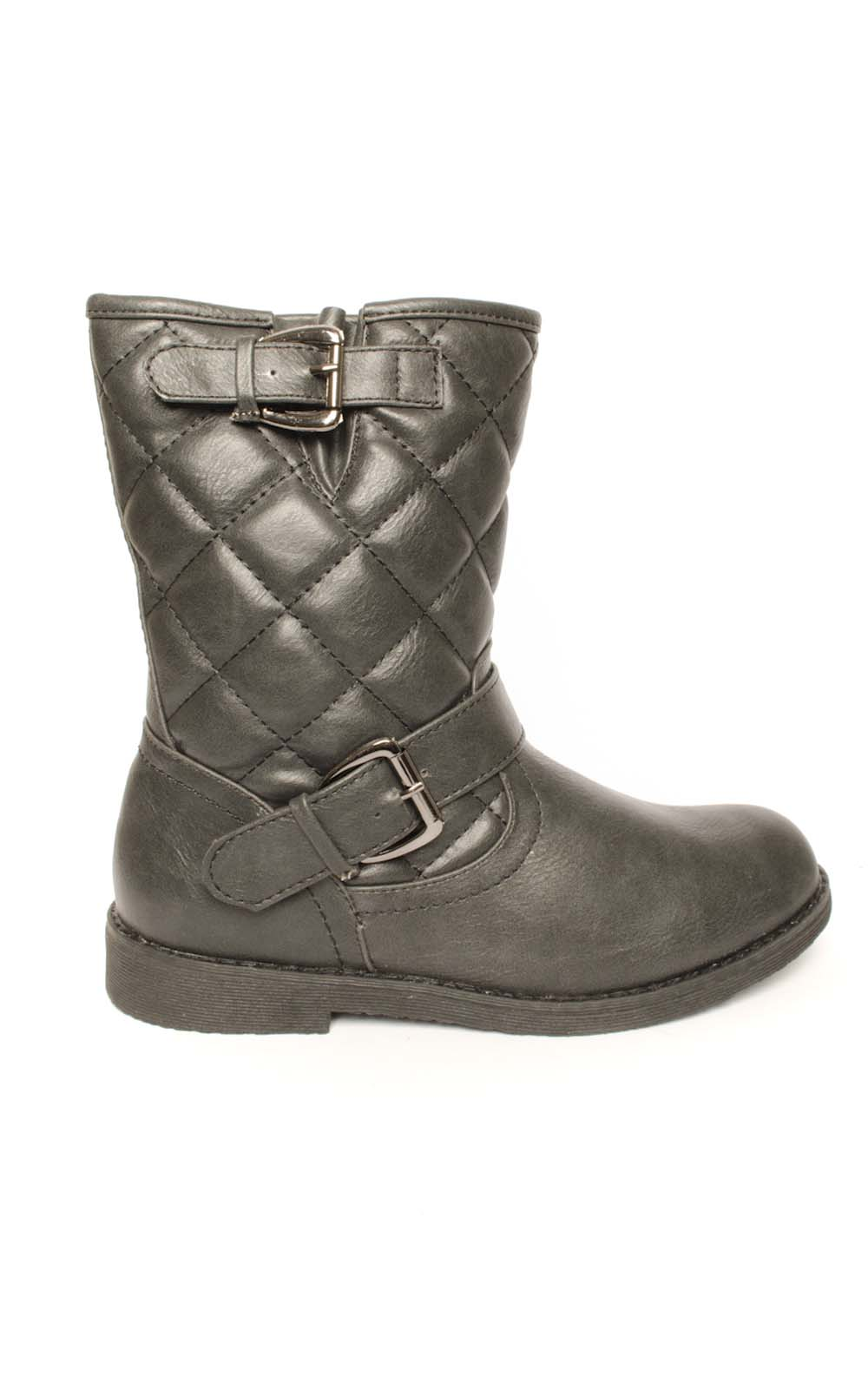 iKrush Abbey Quilted Ankle Boots