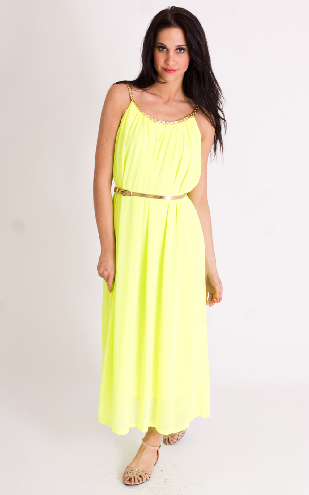 Yellow maxi dress | Shop for cheap Women's Dresses ... - photo #19