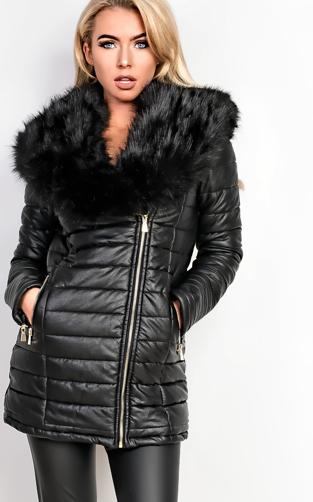 Free shipping and returns on leather & faux-leather coats & jackets for women at private-dev.tk Shop the latest styles from brands like BLANKNYC, Bernardo, Halogen & more.