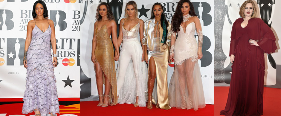 Beauts at the BRITS!
