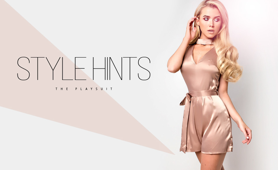 Style Hints: The Playsuit