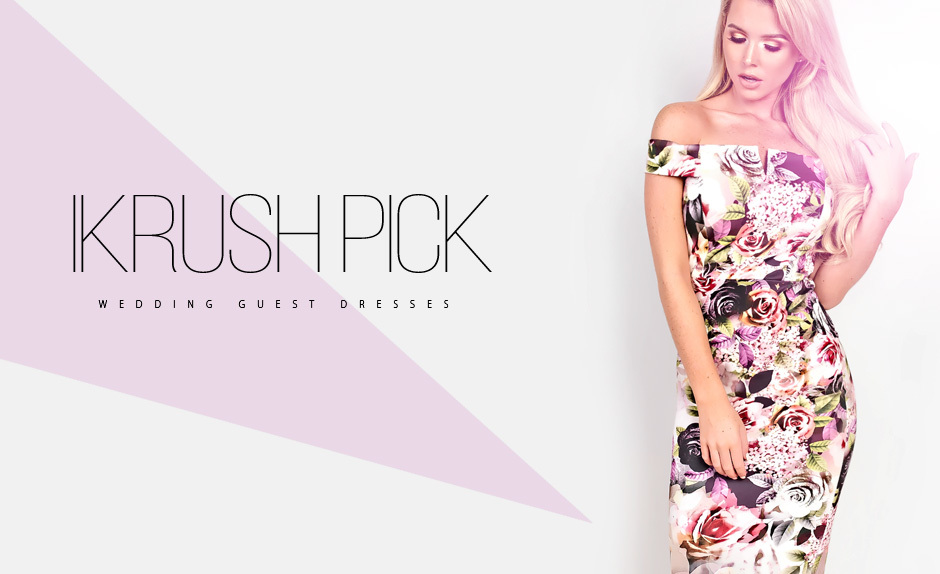 IKRUSH Pick: Wedding Guest Dresses