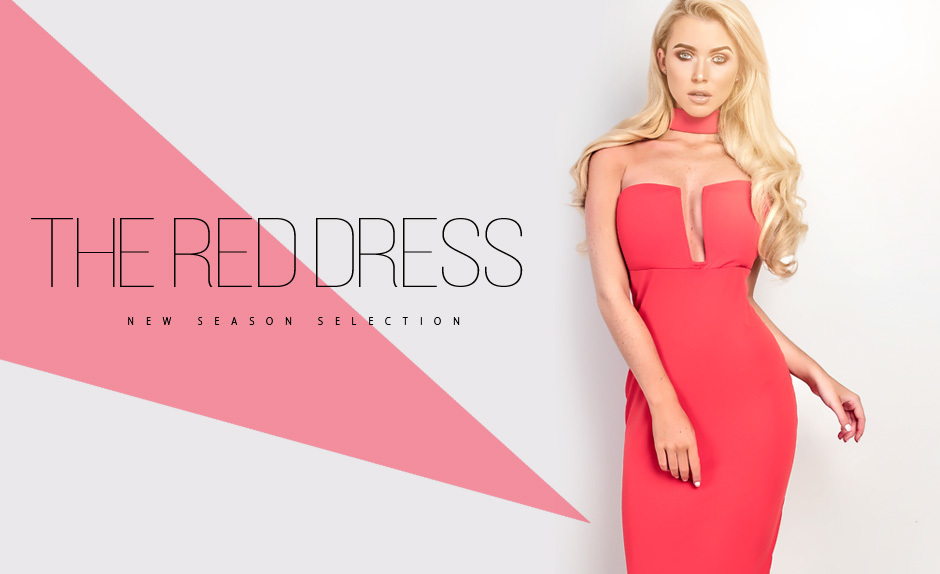 New Season Selection: The Red Dress