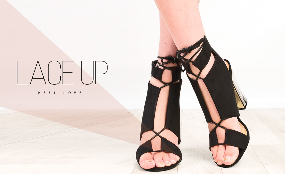 Lace-Up Heel Love
