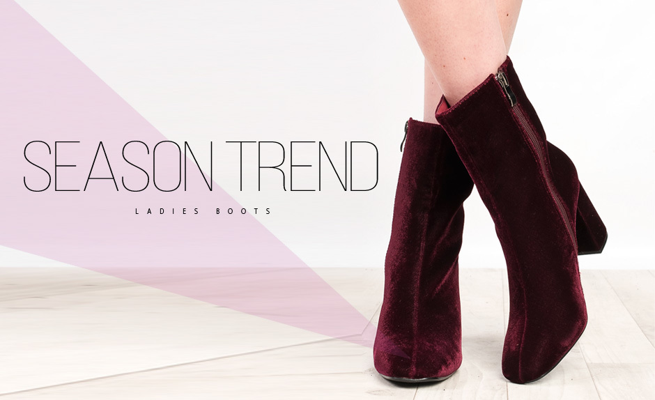 Season Trend: Ladies Boots