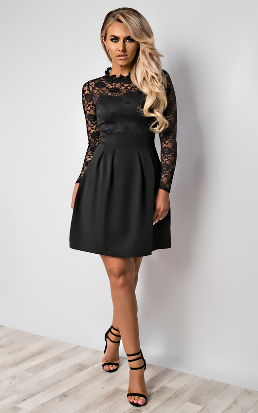 8ffddaa760e0 Anyelle Lace Skater Dress. HOVER ITEM TO ZOOM