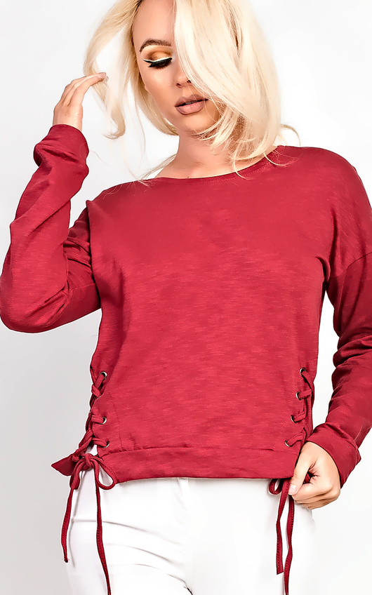 Shea Lace Side Jumper