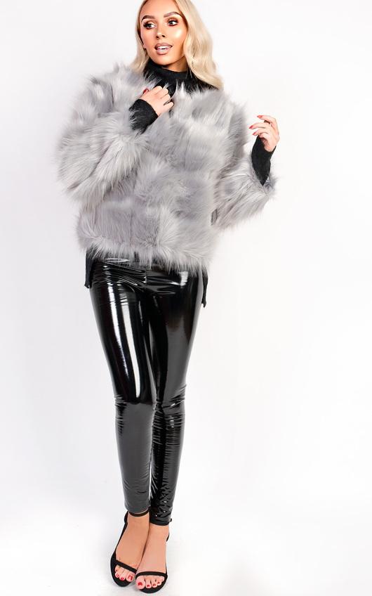 72afddd9d90d Kara Faux Fur Jacket Thumbnail