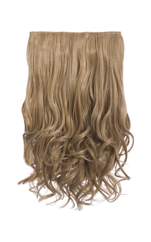 Intense Volume Clip In Hair Extensions Curly Honey Blonde In Honey