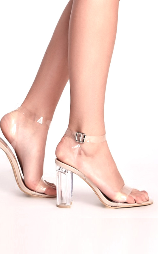 09da4fcdeb3 Emma Clear High Heels. HOVER ITEM TO ZOOM
