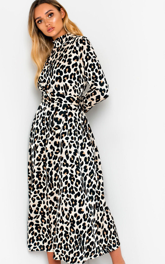 4ac262395d4 Cassie Printed Belted Maxi Dress. HOVER ITEM TO ZOOM