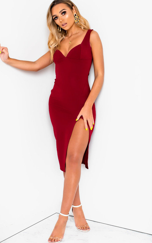 2369535b47d9 Ciara Bodycon Midi Dress. HOVER ITEM TO ZOOM