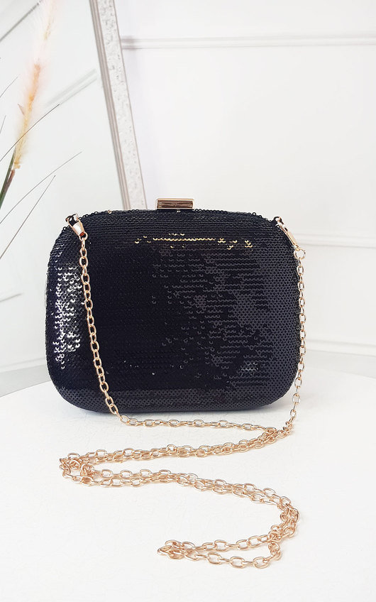IKRUSH Womens Chlo Bee Embellished Envelope Clutch Bag  BLUSH UK 1SZE