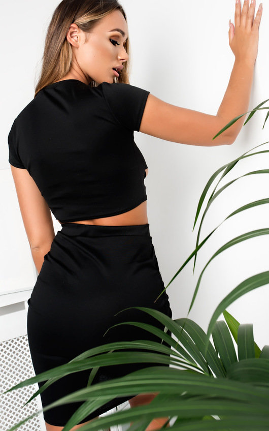 Ikrush Femme Stella Knitted Co-Ord