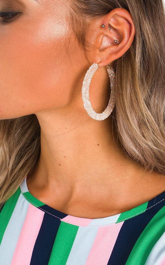 f569be43598ff Ellie Crystal Hoop Earrings