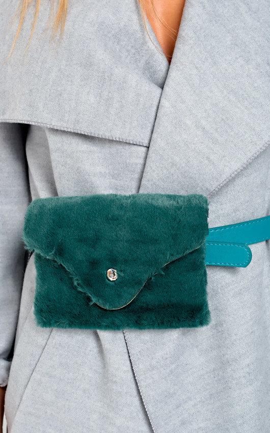 3f259c2121ac Evie Faux Fur Belt Purse Thumbnail