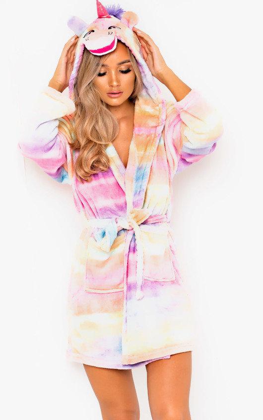 b6a69c187 Felicity Unicorn Dressing Gown in Multi   ikrush