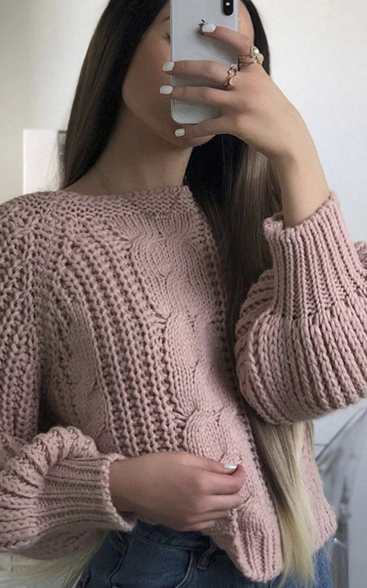 3bff43827b9a Gracie Knitted Jumper in Pink