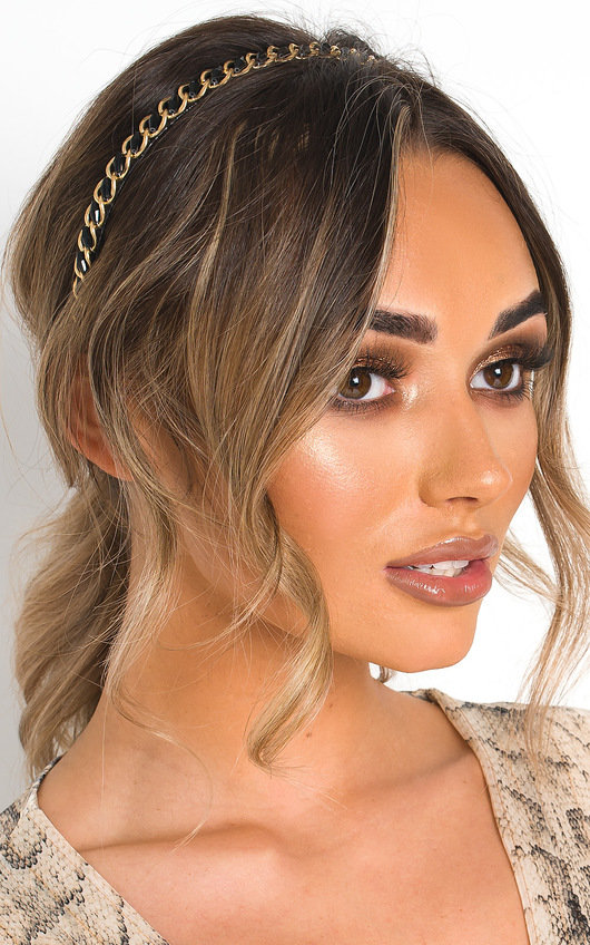 8024e0c2541 Harriet Chain Detail Hairband. HOVER ITEM TO ZOOM