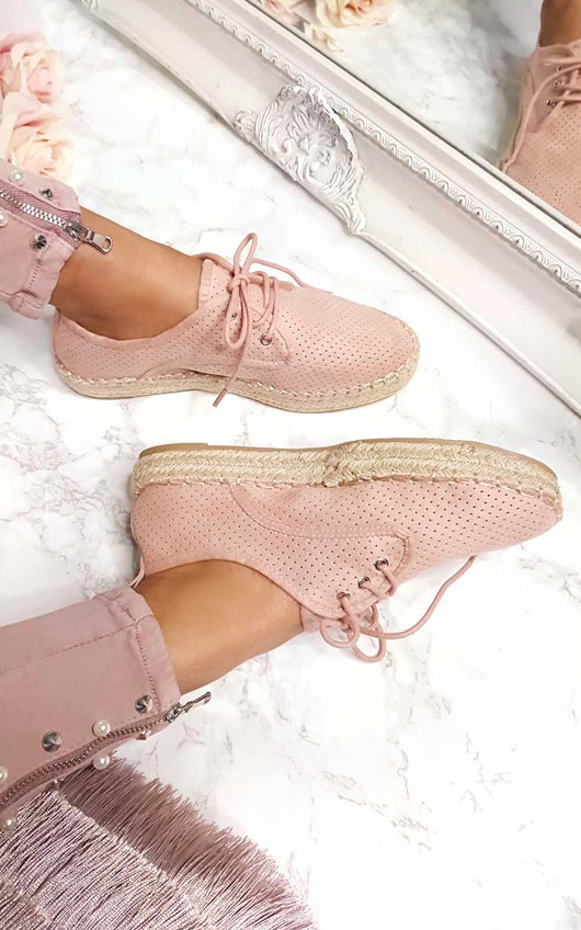 Jasmin Lace Up Espadrilles