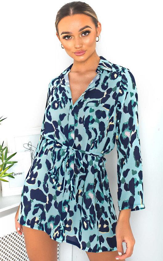 741d97746c8 Julie Tie Waist Shirt Dress. HOVER ITEM TO ZOOM